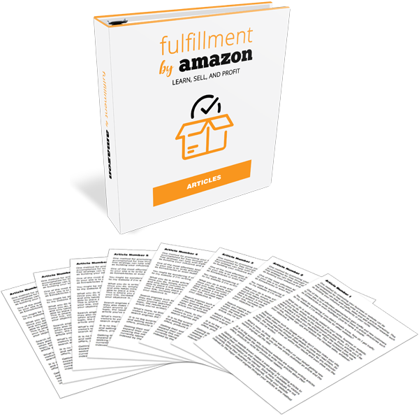 Fulfillment By Amazon High-Quality PLR Articles