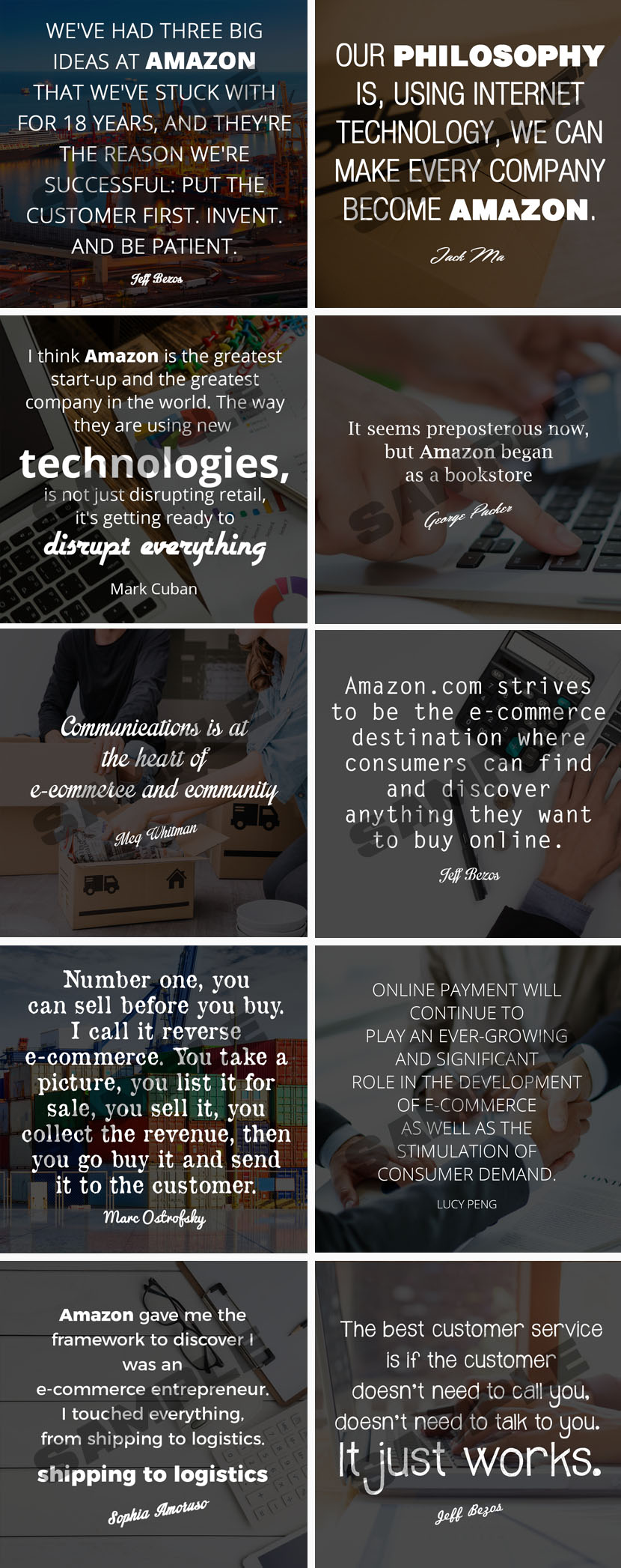 Fulfillment By Amazon Social Media Posters