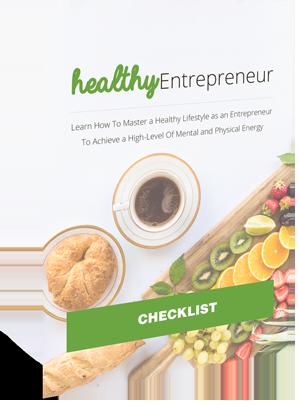 Healthy Entrepreneur Checklist