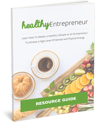 Healthy Entrepreneur Resource Cheat Sheet