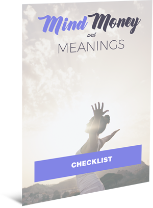 Mind, Money and Meanings Checklist