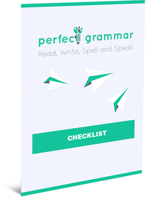 Perfect Grammar Checklist