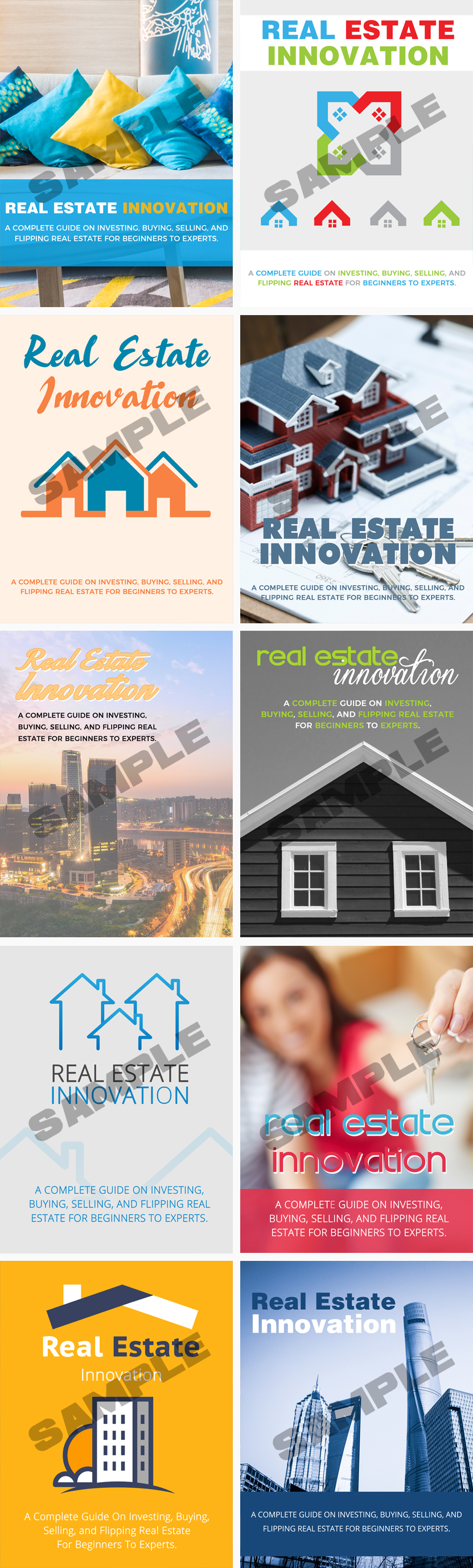 Real Estate Innovation Unique Top Quality eCovers