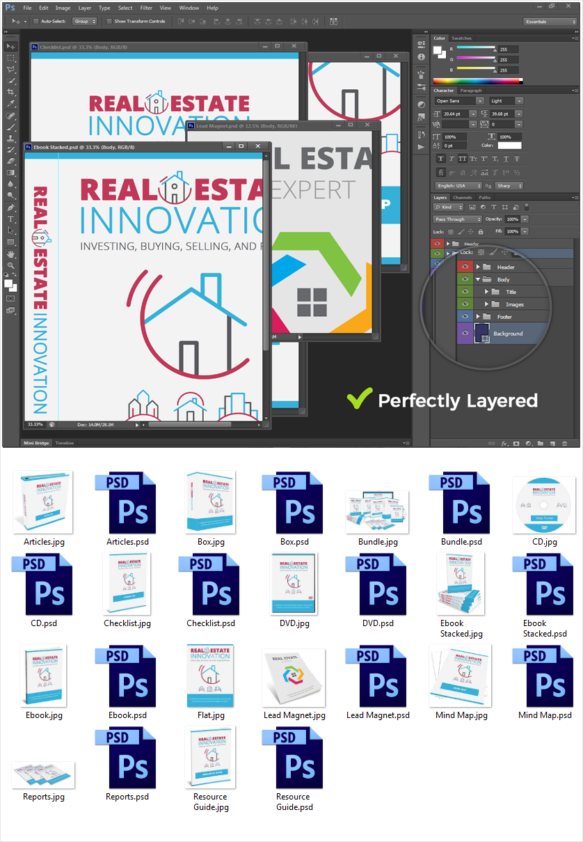 Real Estate Innovation Source Graphic Files