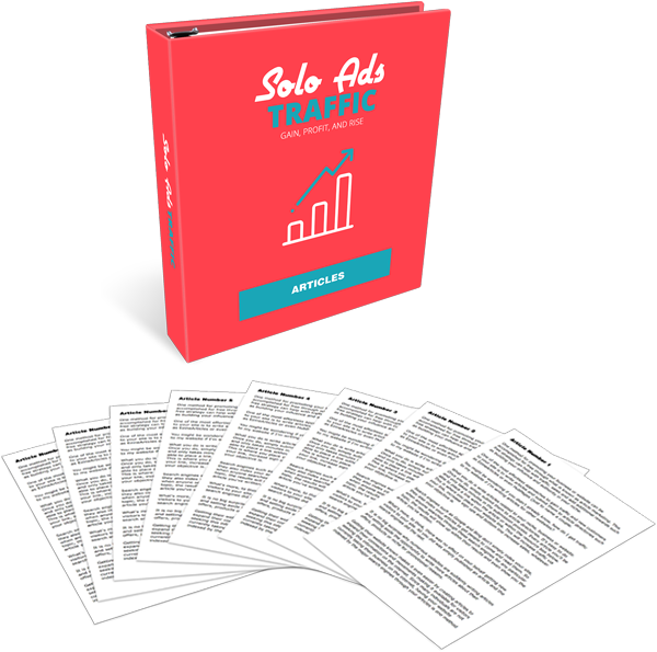 Solo Ads Traffic High-Quality PLR Articles